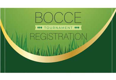 Bocce Ball Tournament Registration