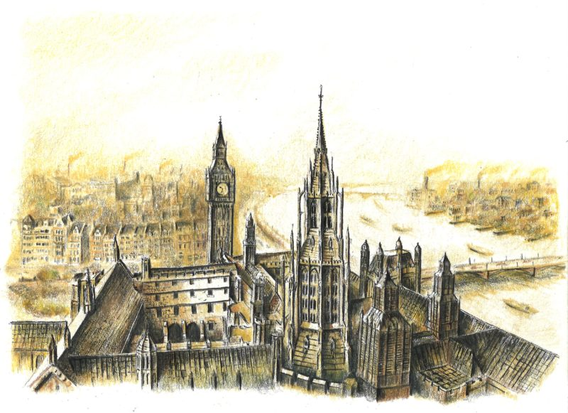 British Palace of Westminster Big Ben - Submit