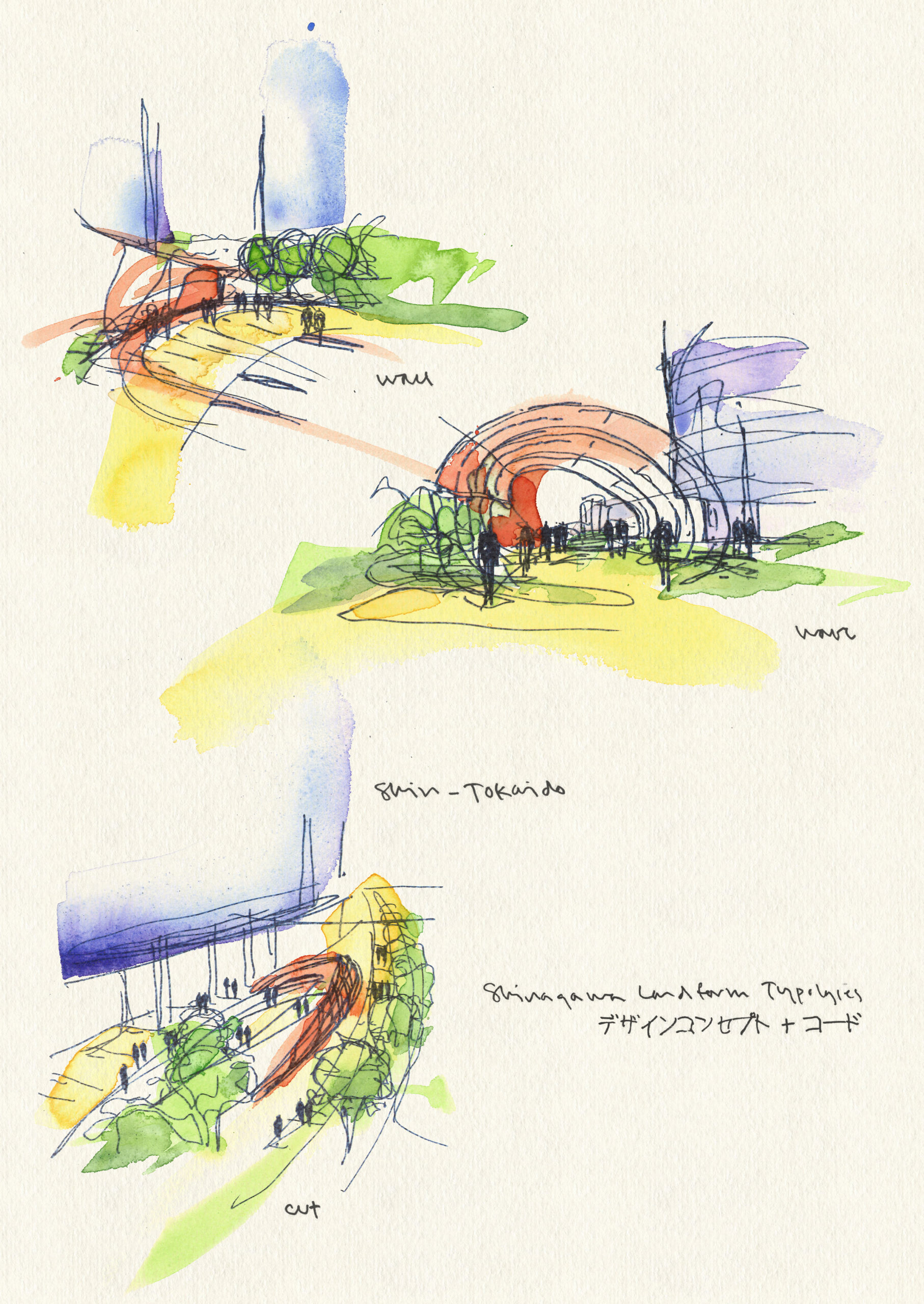 Shinagawa Watercolors