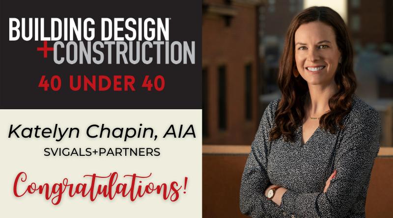 Katelyn Chapin 40 Under 40