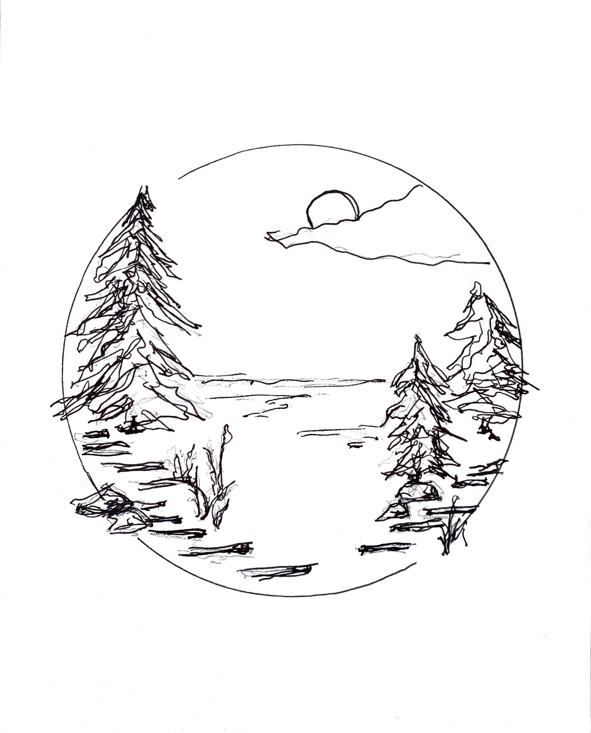 Hoff_Happy Place Sketch